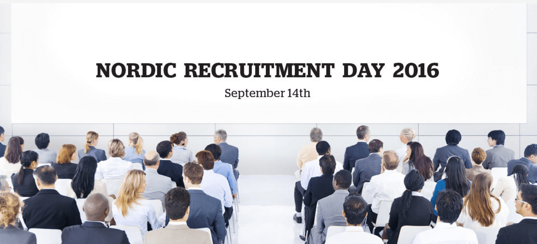 CareerBuilder på Nordic Recruitment Day